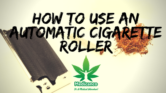 how to use an automatic cigarette roller