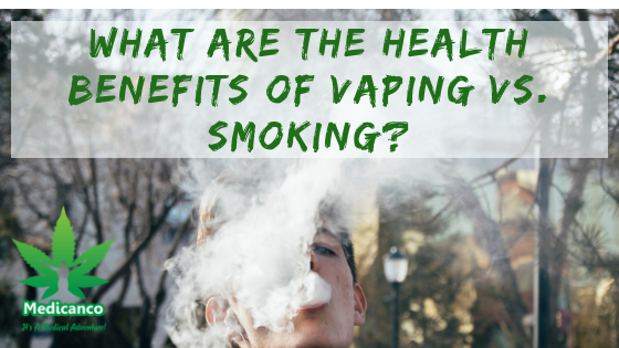 Health Benefits of Vaping vs. Smoking