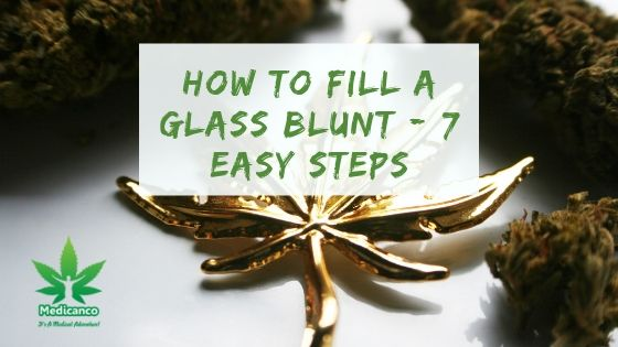 how to fill a glass blunt