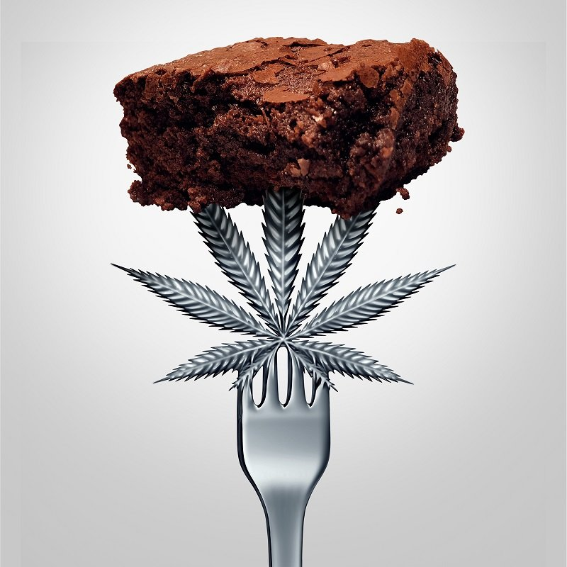effects of pot brownies
