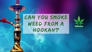Can you smoke weed from a hookah