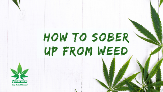 how to sober up from weed
